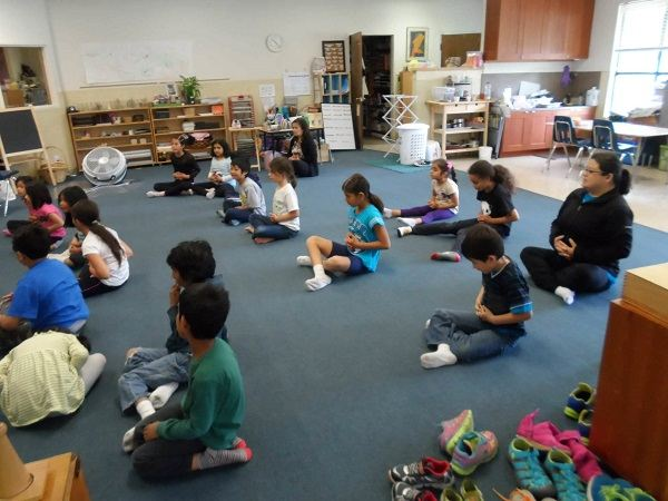 Teaching your child through Meditation